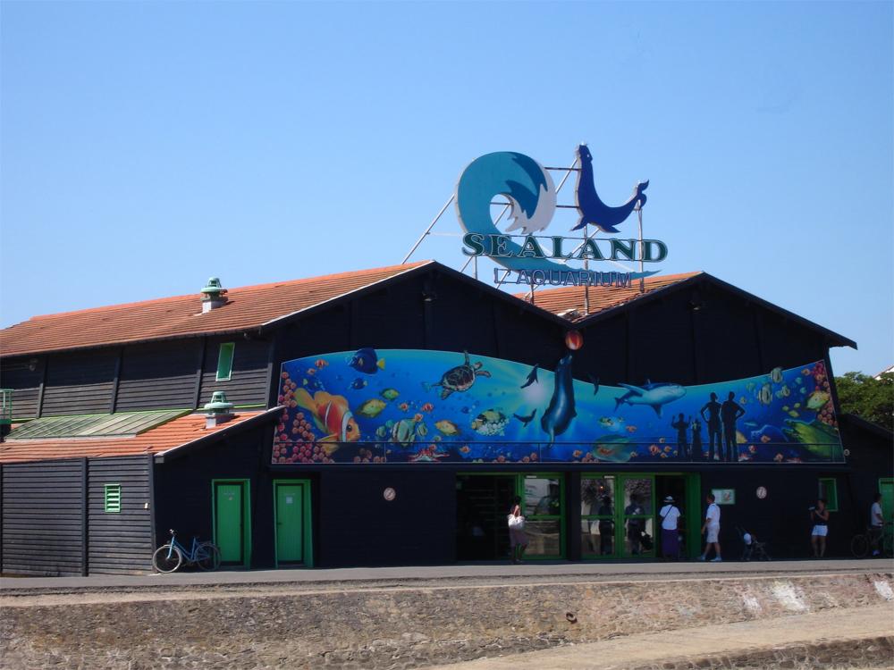 Sealand Aquarium de Noirmoutier - Parc du0026#39;attraction en Vendu00e9e